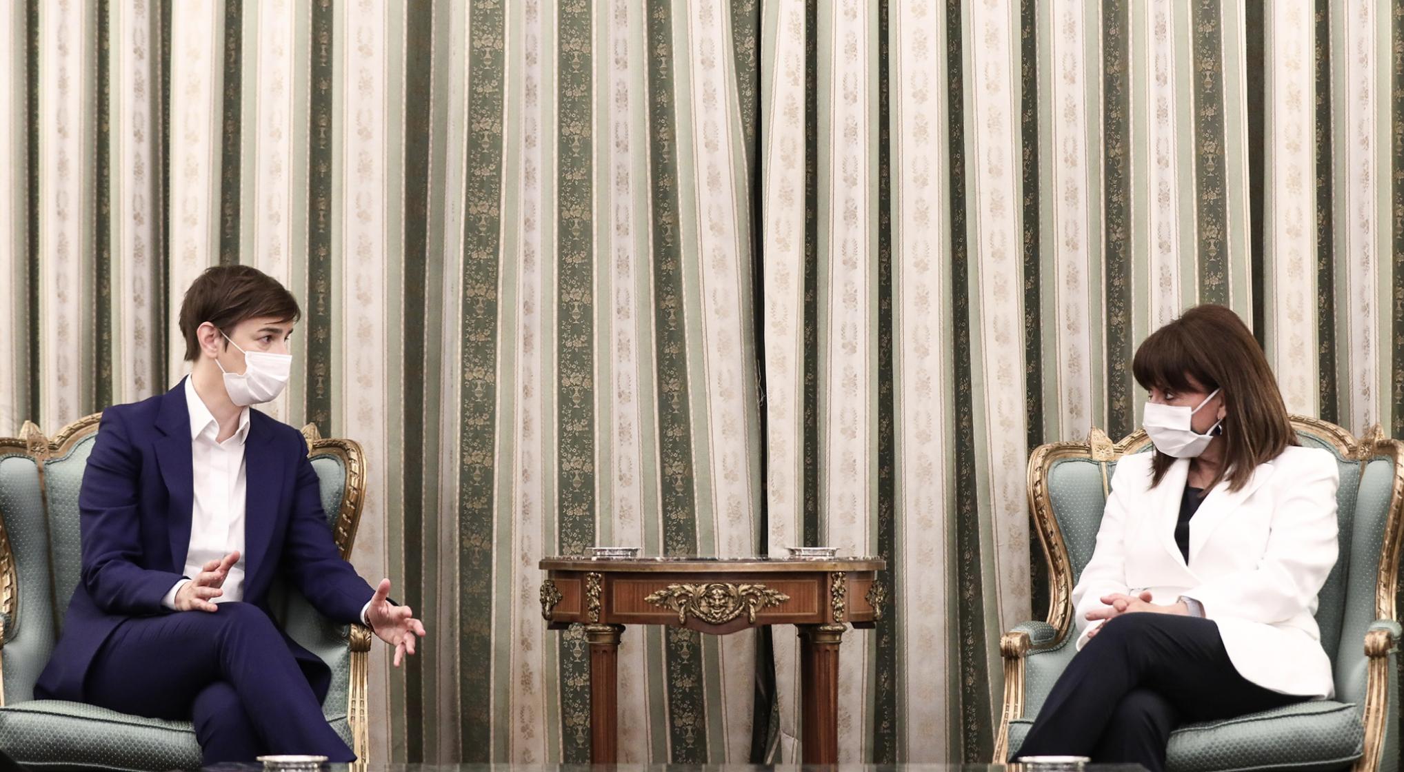 Greece: The President of the Republic met with Krivokapić, Brnabić and Dodik