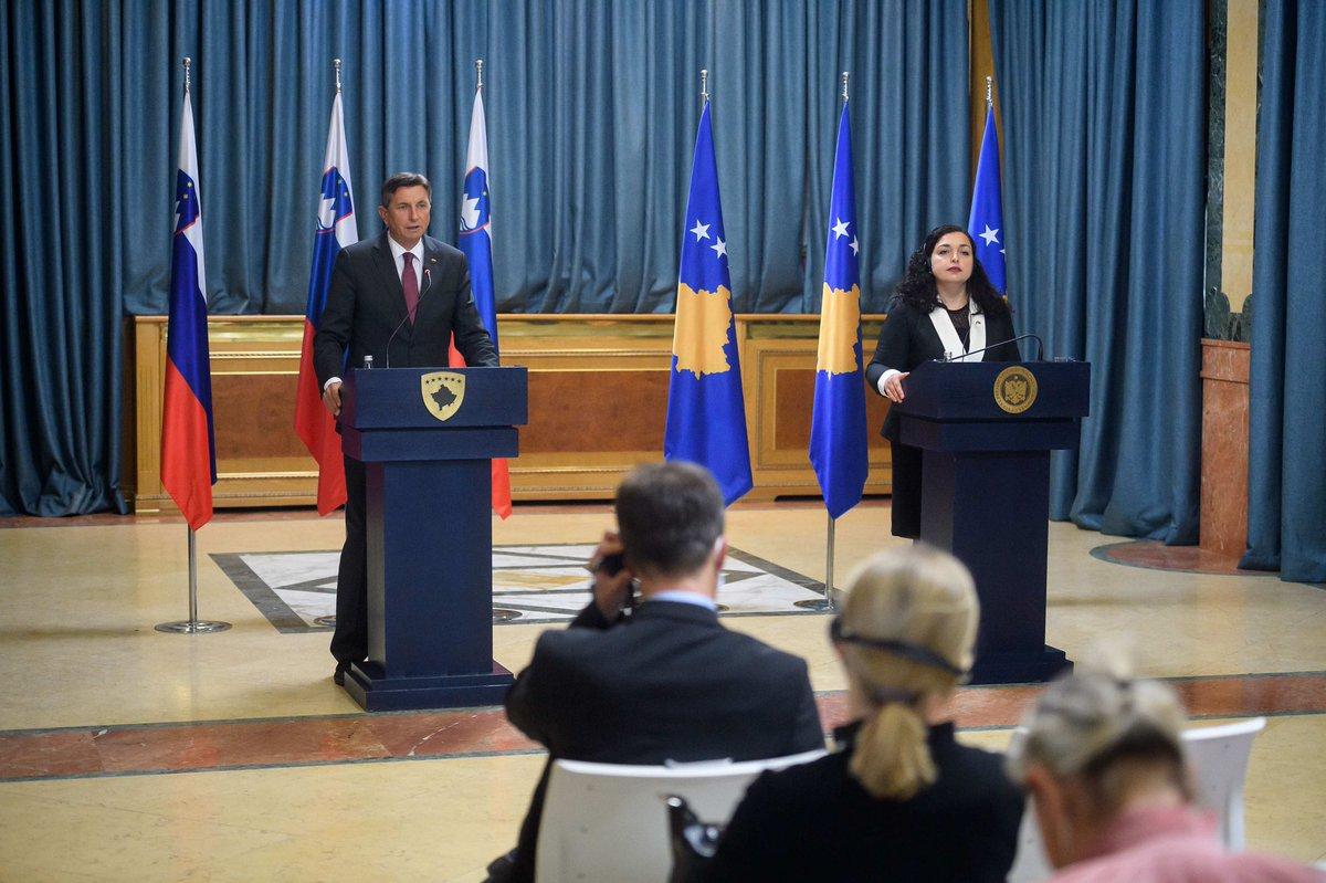 Pahor: I am against change of borders in Western Balkans