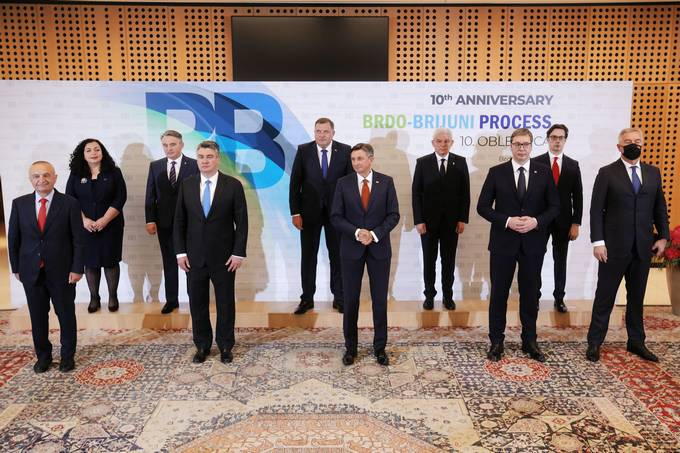 The participants in the Brdo-Brijuni process meeting adopted a joint declaration