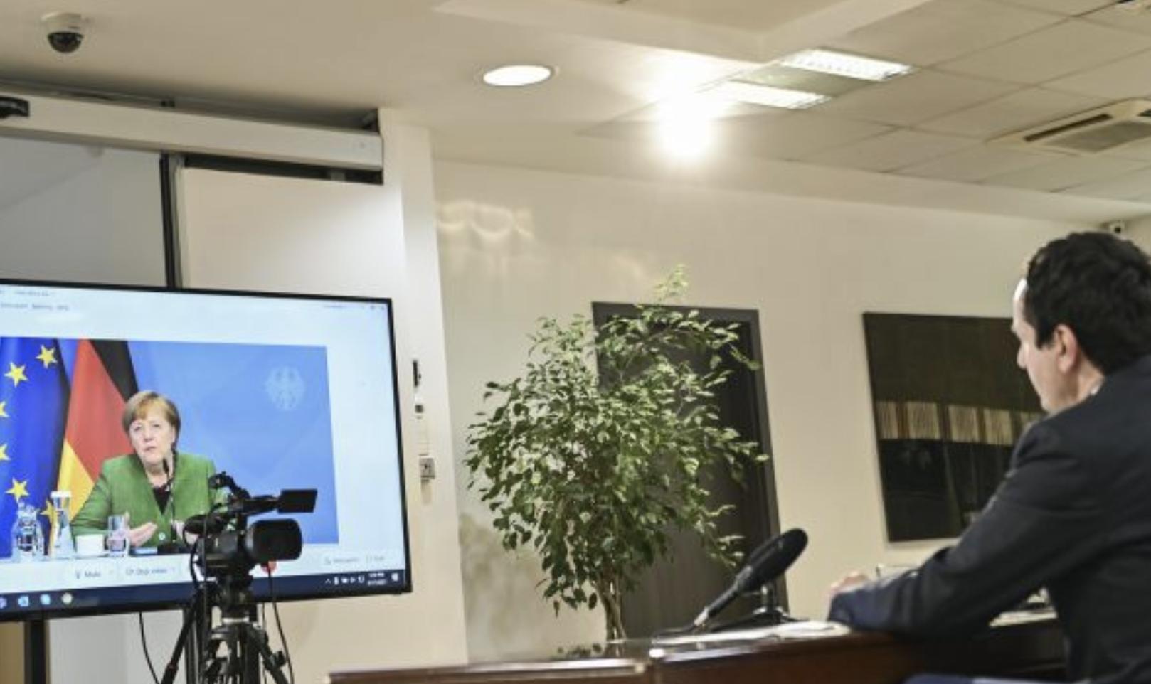 Kosovo: Kurti and Merkel discuss Dialogue, vaccines and jobs