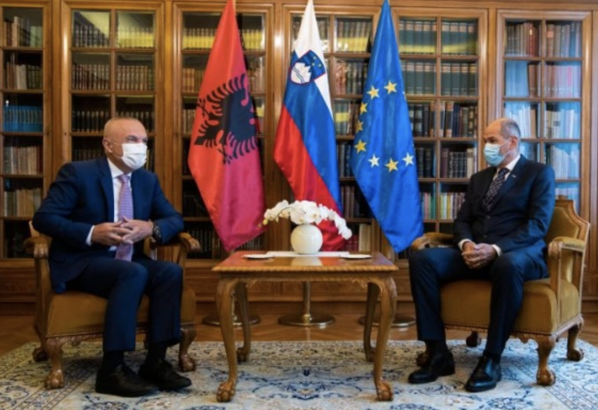 Slovenia: Janša received the Albanian President