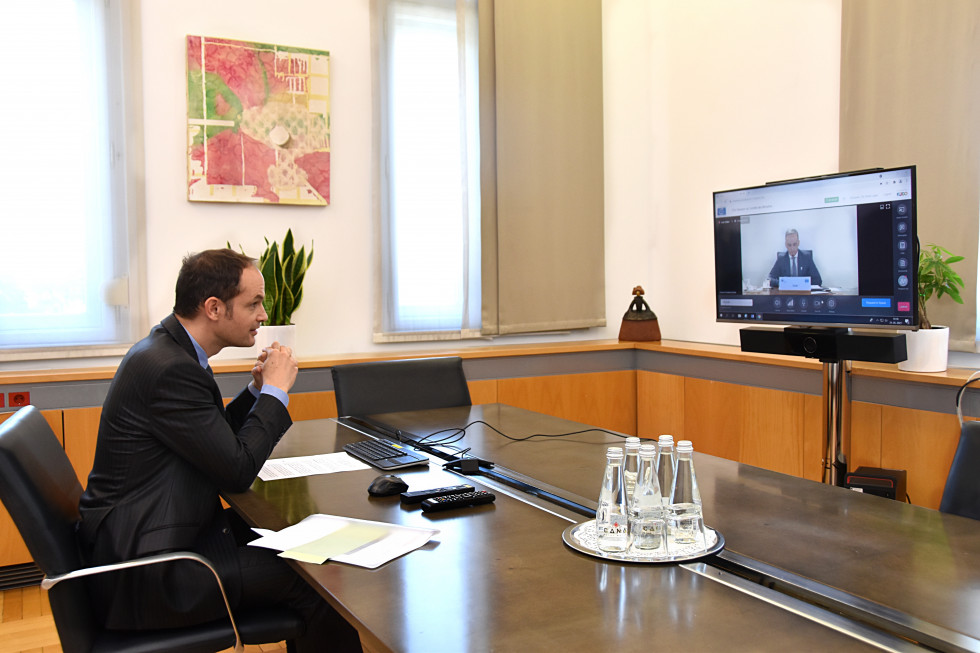 Slovenia: Logar participated in the 131st session of the Committee of Ministers of the Council of Europe