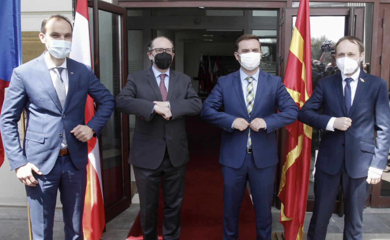 North Macedonia: Austria, Slovenia and Czech Republic want to start accession talks immediately