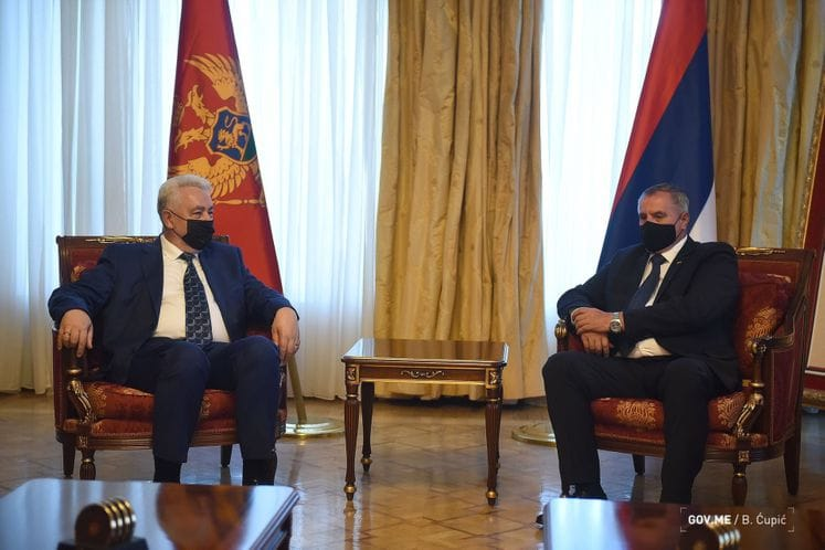 Montenegro PM continues the official visit to BiH