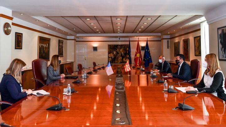North Macedonia: Zaev met with the Ambassador of the USA