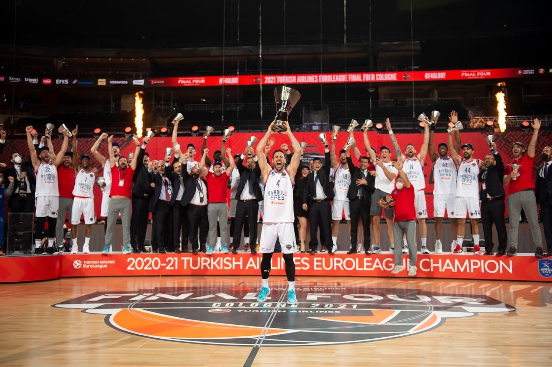 Turkey: Anadolu Efes won EuroLeague 2021