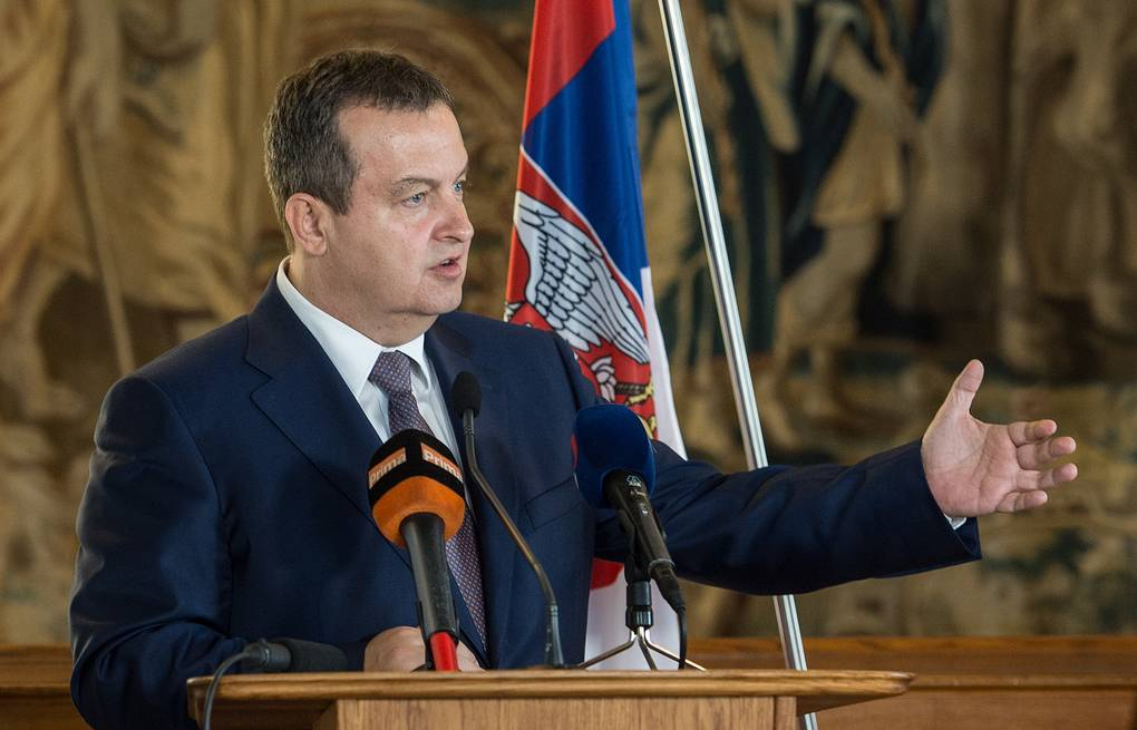 Dačić: We don't accept imposed solutions