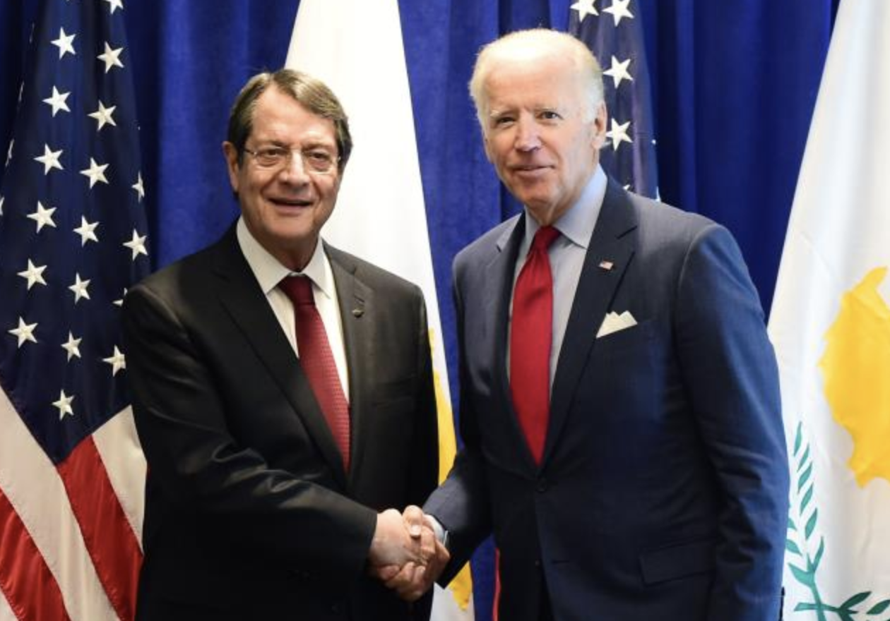 Cyprus: US President supports a BBF solution in Cyprus, expresses concern over Varosha