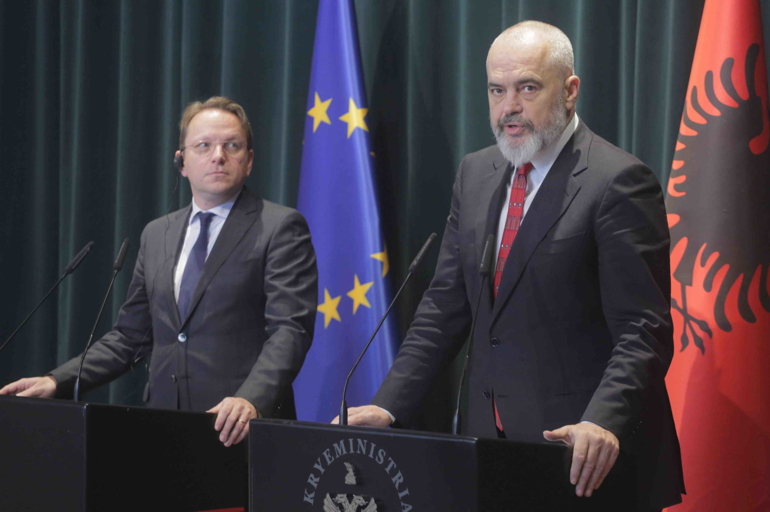 Rama and Varhelyi to chair Western Balkans Summit on June 10th in Tirana