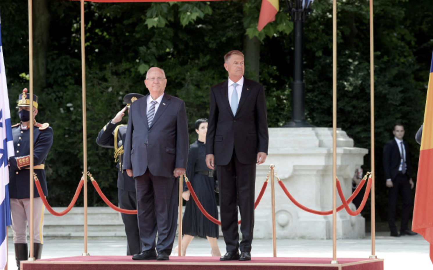 Romania: Israeli President pays official visit for second day