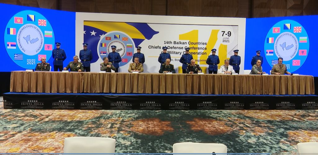 BiH: The 14th Conference of the Chiefs of Staff of the Balkan countries ends