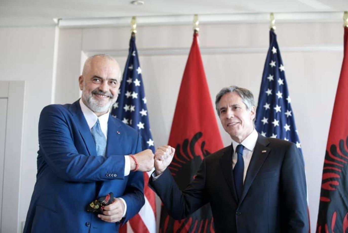 Albania: Rama and Blinken met in Brussels