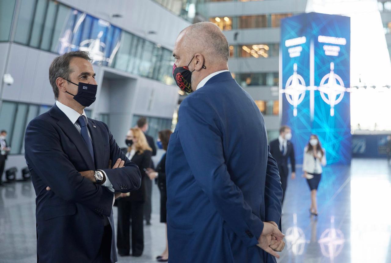 Greece: Mitsotakis met with Rama and Johnson
