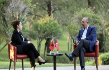 The strengthening of cooperation in various fields was discussed by Xhaçka Cavusoglu