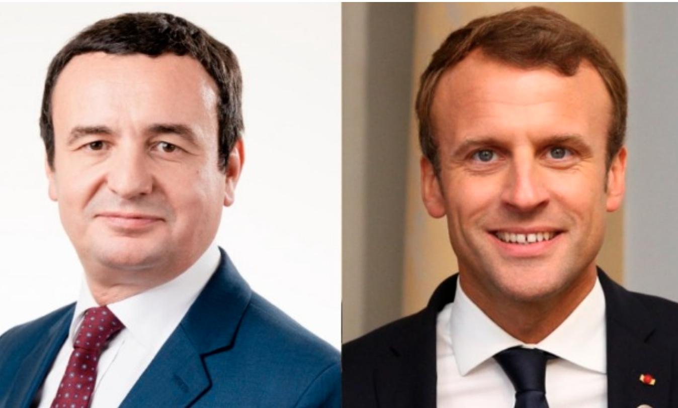 Macron-Kurti meeting in Paris during the week