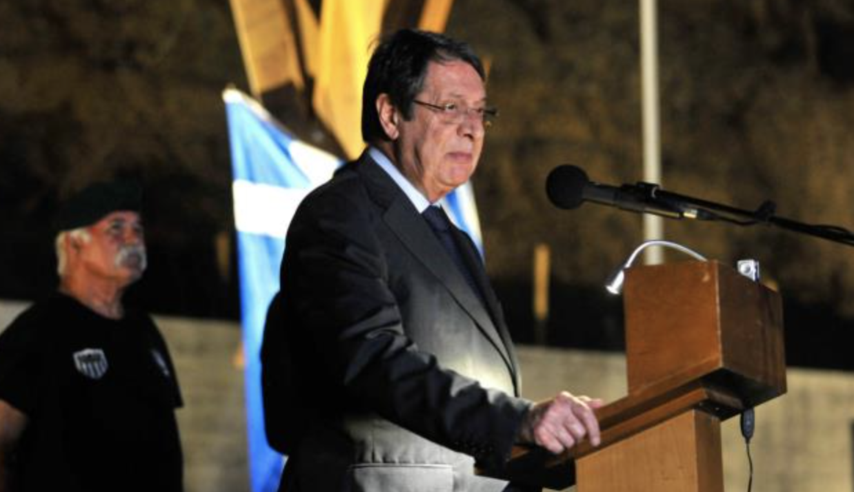 Anastasiades: I will not turn Cyprus into a protectorate of Turkey