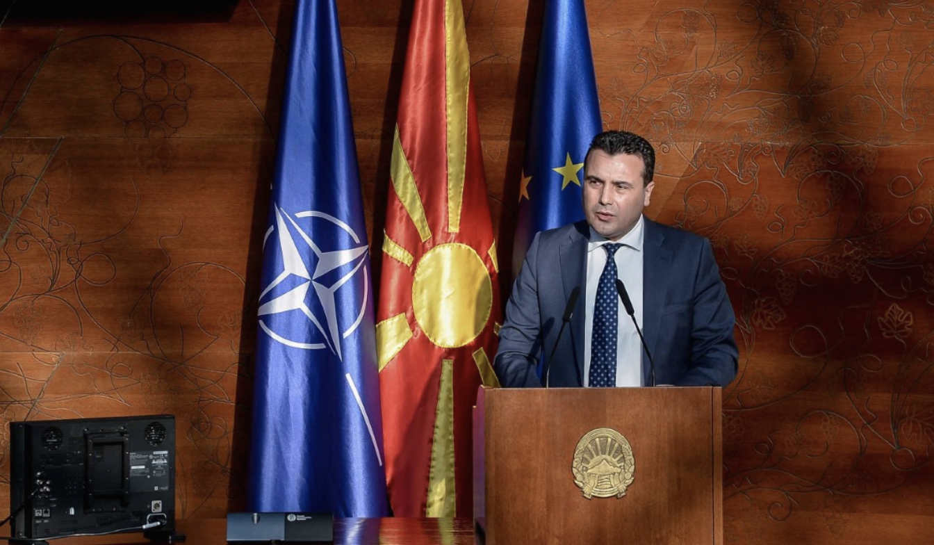 Zaev: It is politically correct to correct a mistake when it contradicts the Prespa Agreement