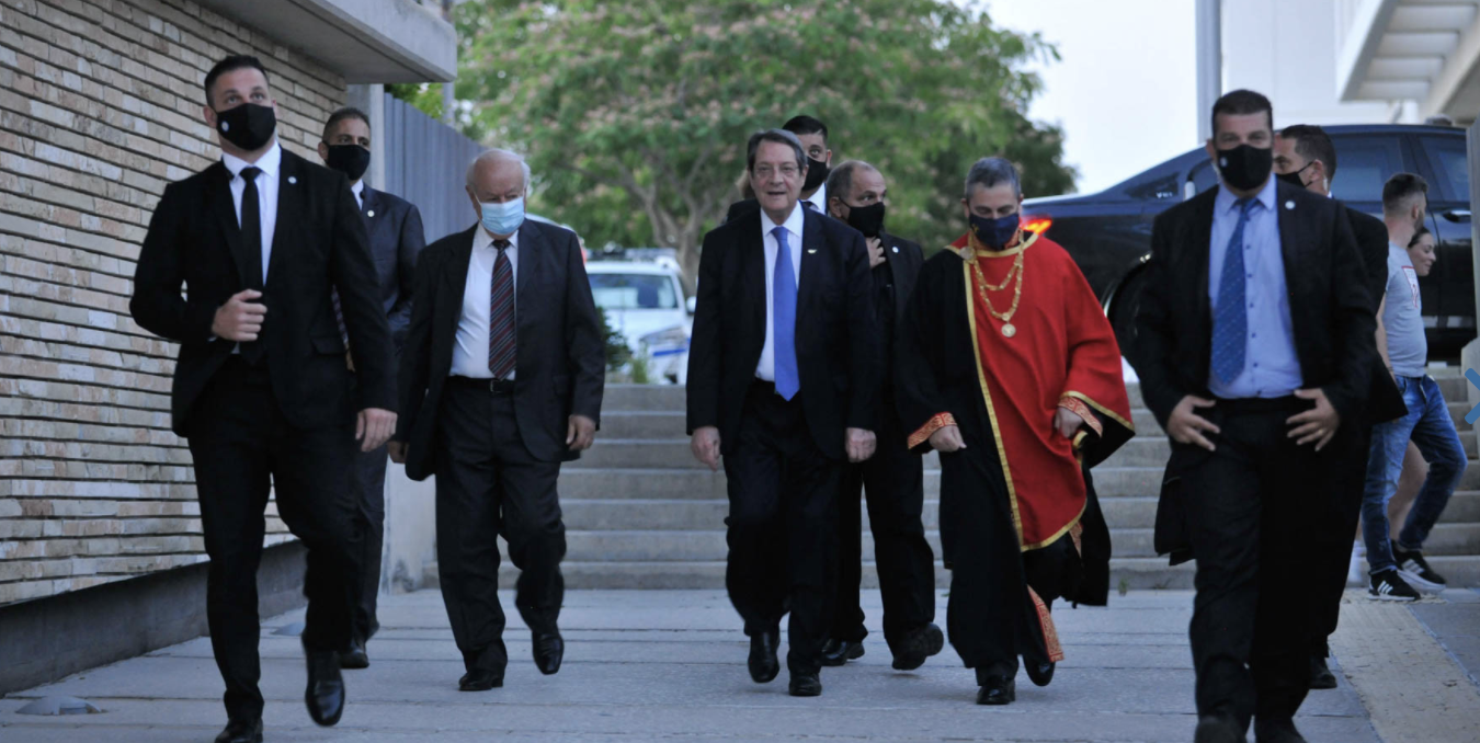 Cyprus: Any report on self-governing areas is unfortunate and unacceptable, said Anastasiades
