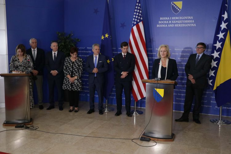BiH: Election reforms in the centre of the interest of EU and US