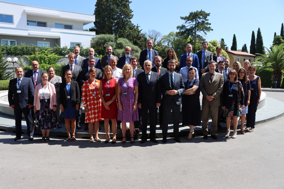 Slovenia hosted an informal meeting of the Strategic Committee on Immigration, Frontiers and Asylum (SCIFA)