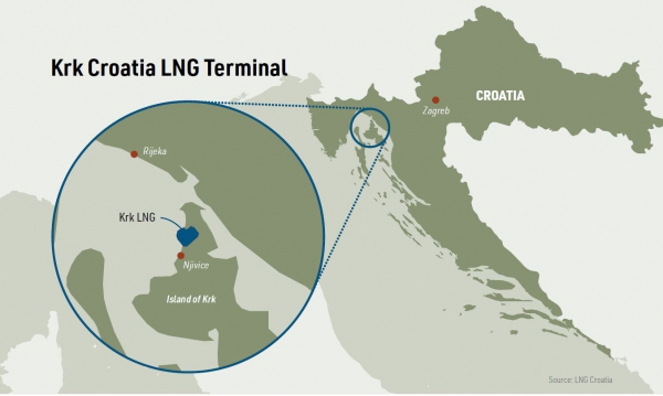 LNG terminal put Croatia on the energy map of Europe
