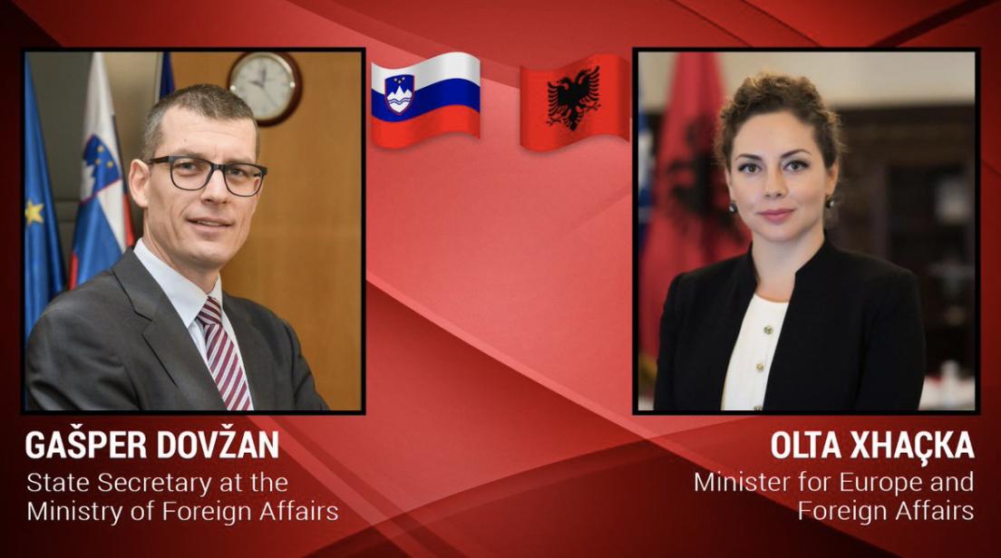 Xhaçka: Slovenia, commitment to the integration of the Western Balkans