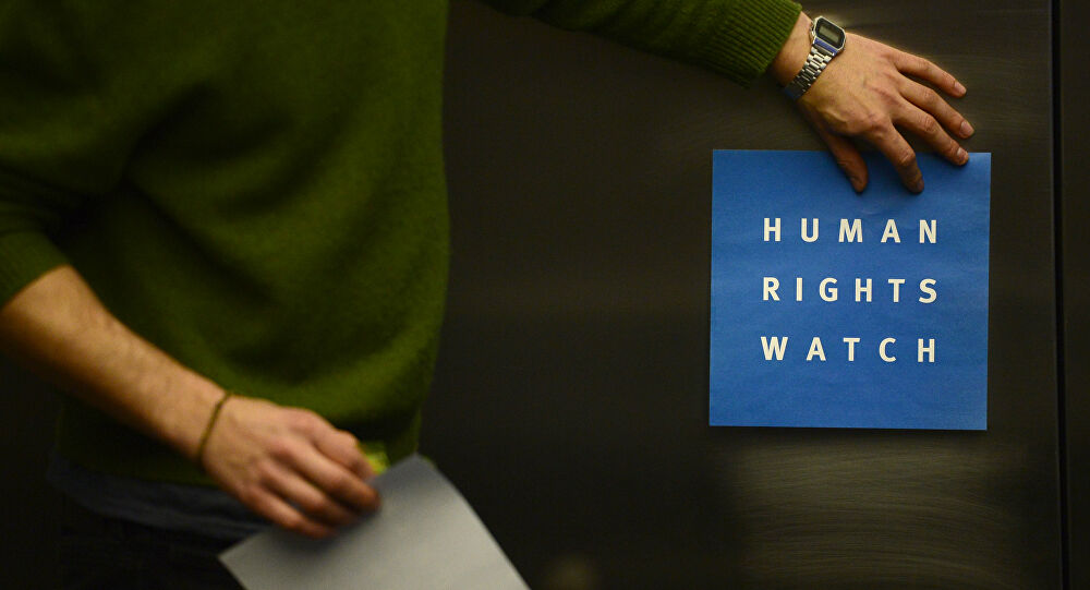 Croatia was criticized by HRW and several other NGOs