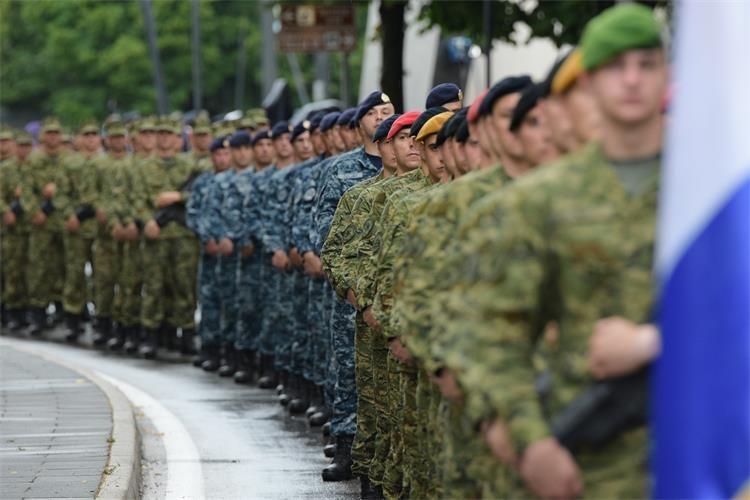 Croatia celebrates, Serbs mourn
