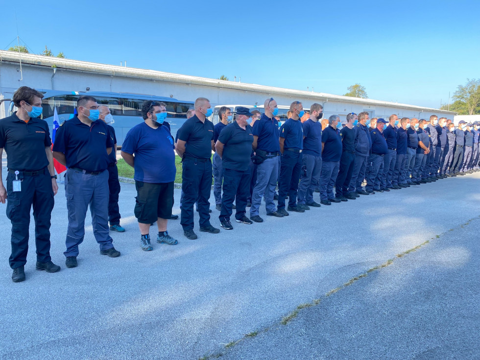 Slovenia helps North Macedonia to fight the wildfires