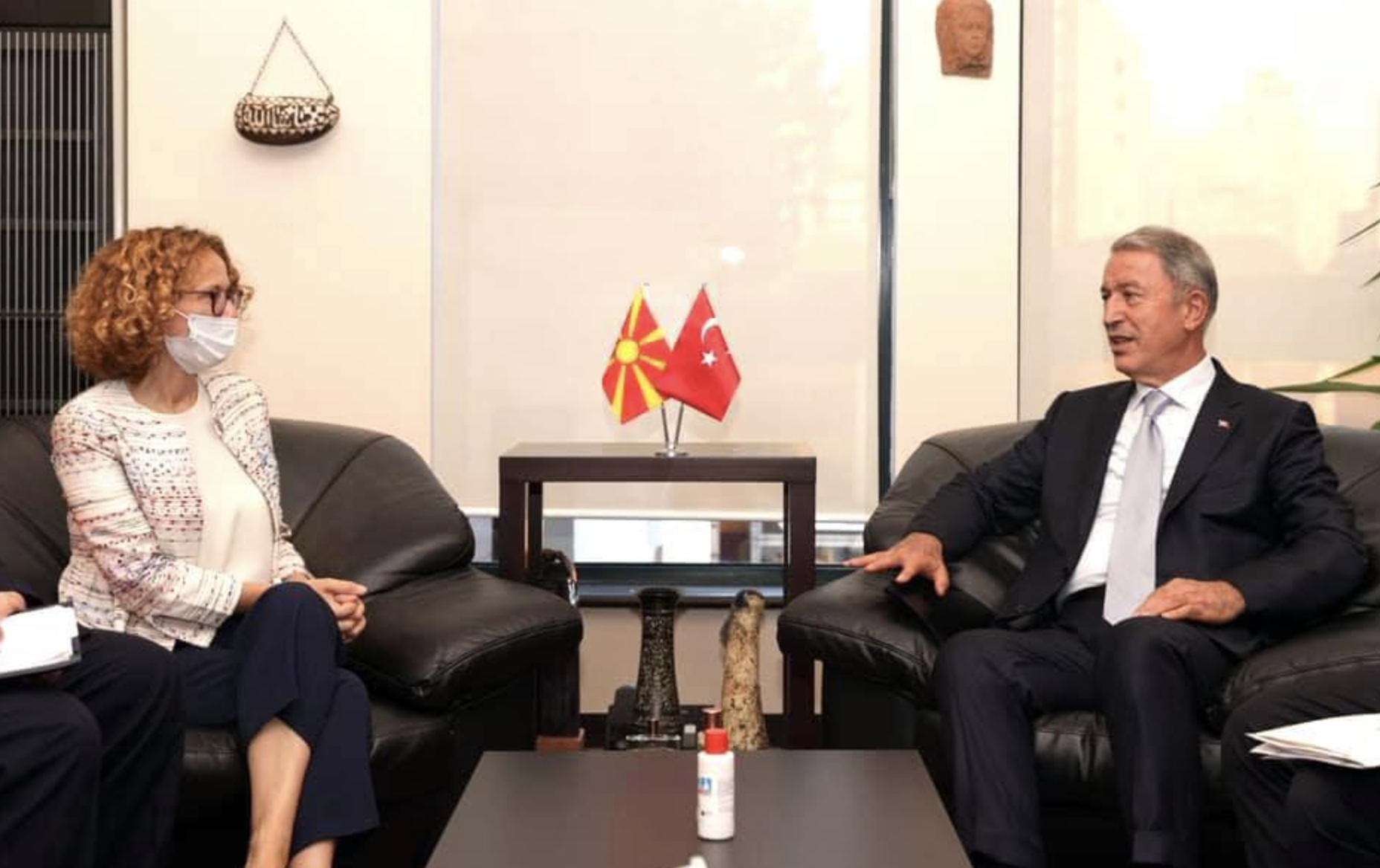 North Macedonia: Sekerinska, Akar sign five-year military-economic agreement