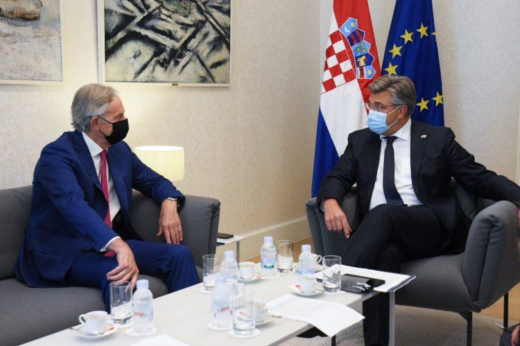 Croatia: Plenković met former UK PM Tony Blair