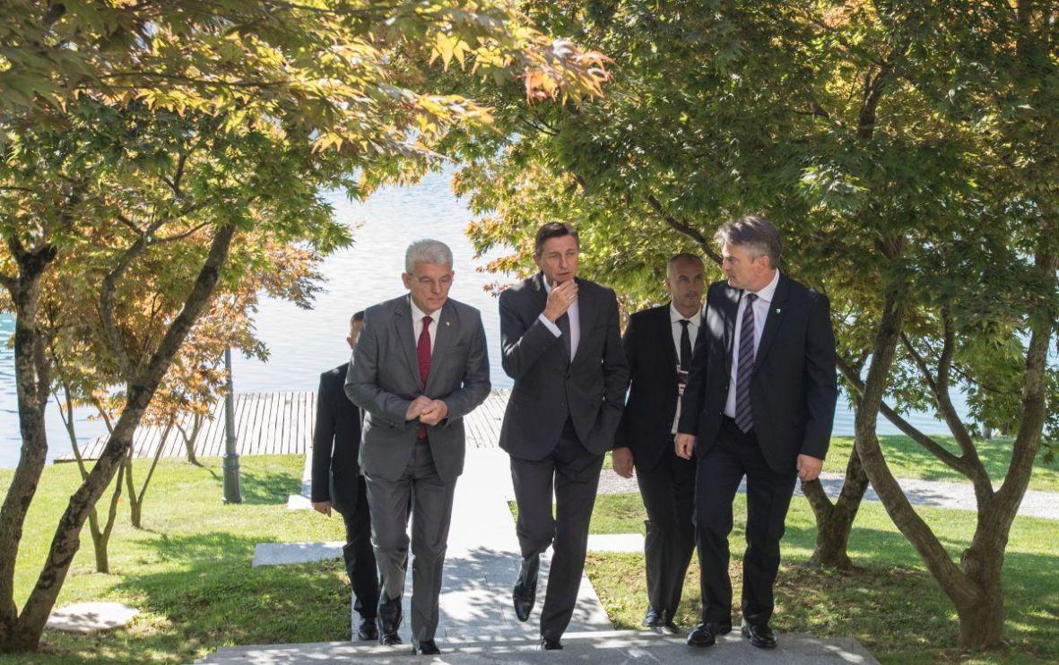 BiH: Komšić and Džaferović met with Pahor