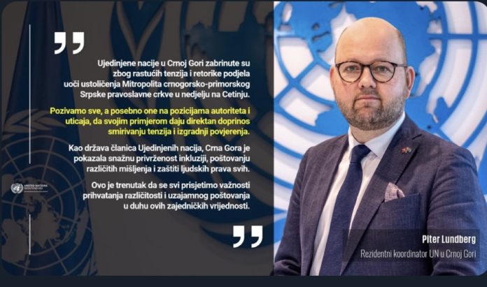 Montenegro: International organizations are concerned about the situation