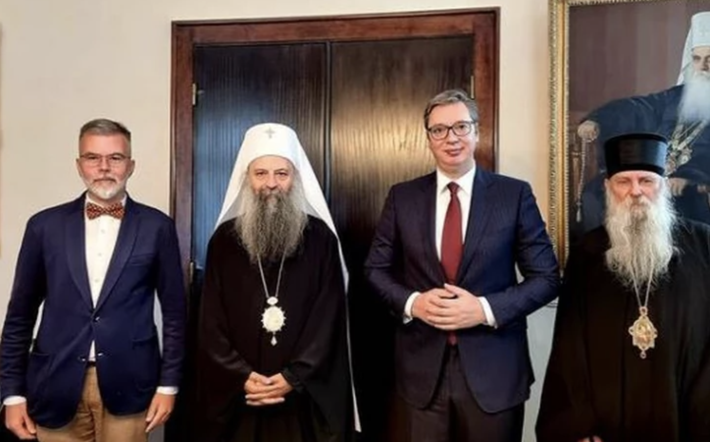 Serbia: Vučić and Patriarch Porfirje agreed on the construction of a memorial centre in Donja Gradina