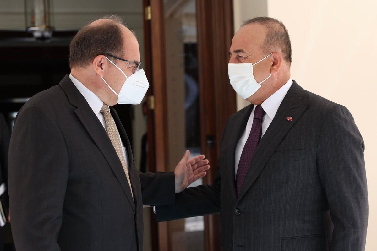 Turkey: Cavusoglu-Schmidt meeting in Ankara
