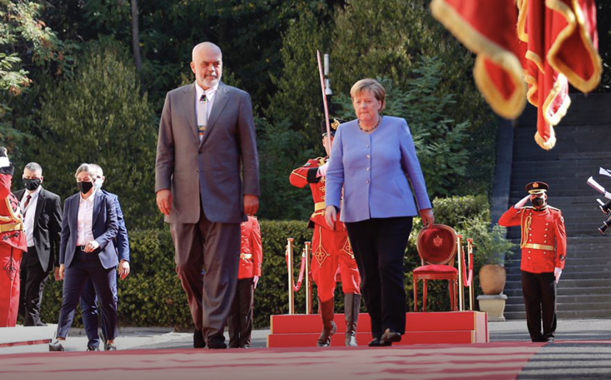 """Merkel: I welcome the """"Open Balkans"""" initiative and invite other countries to join in"""
