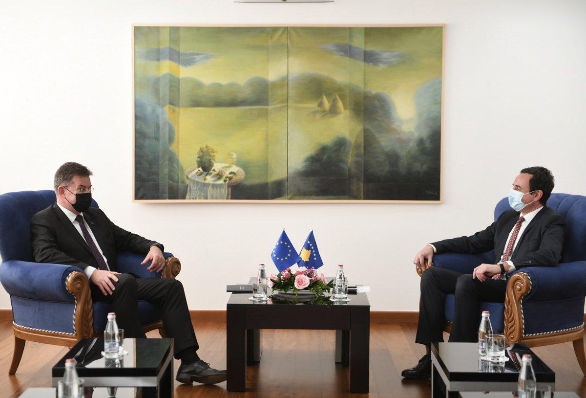 Kosovo: Kurti – Lajčák meeting