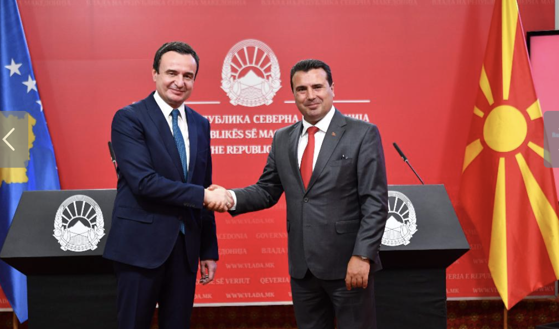 Zaev and Kurti: We have strong political will to strengthen and deepen bilateral relations and cooperation in all areas