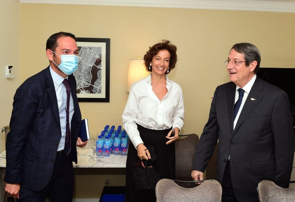 Cyprus: The President of the Republic began his contacts in New York