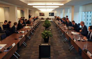 Slovenian FM Logar at the informal meeting of EU foreign ministers in New York
