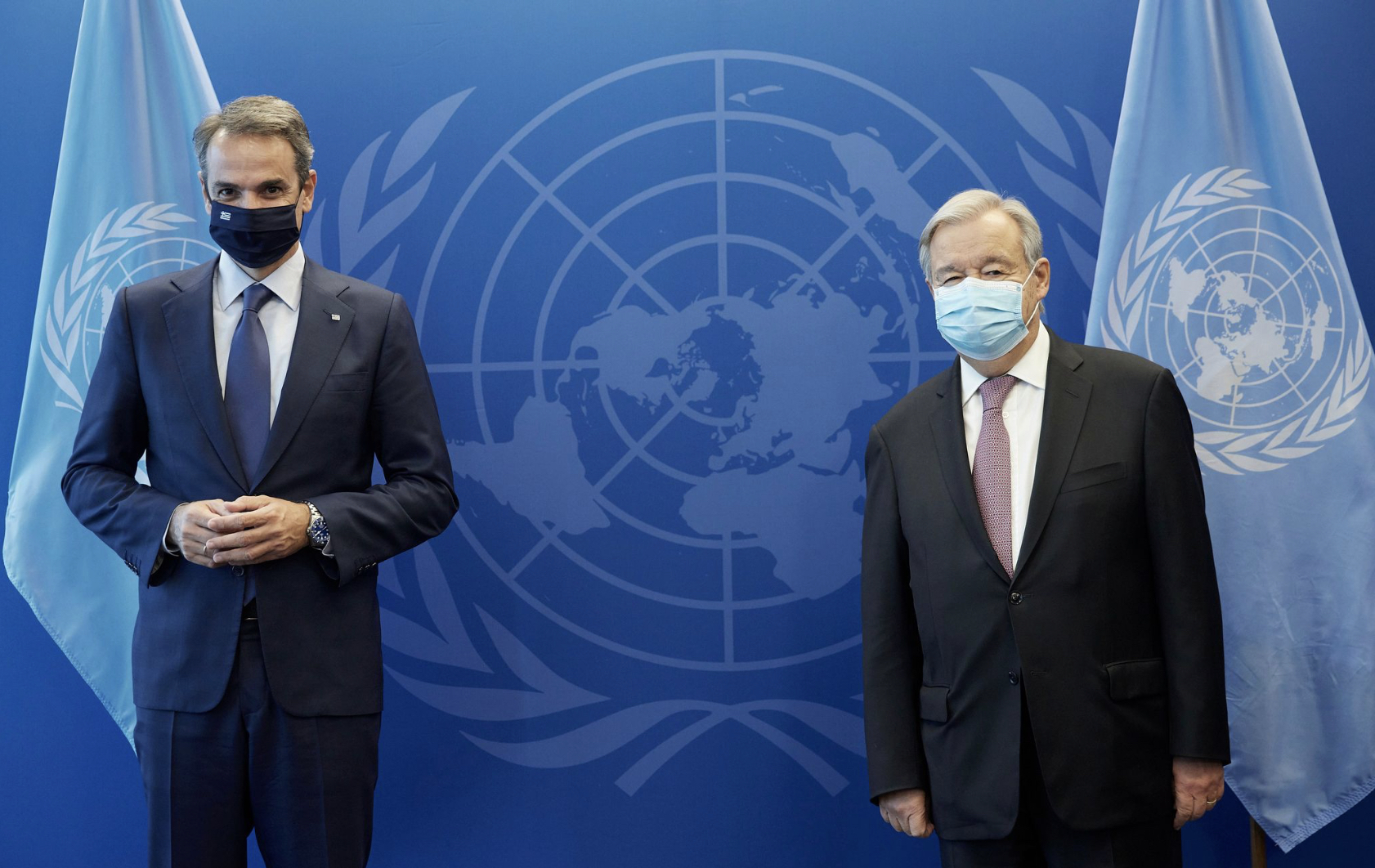 Greece: The Greek PM met with the UN Secretary General