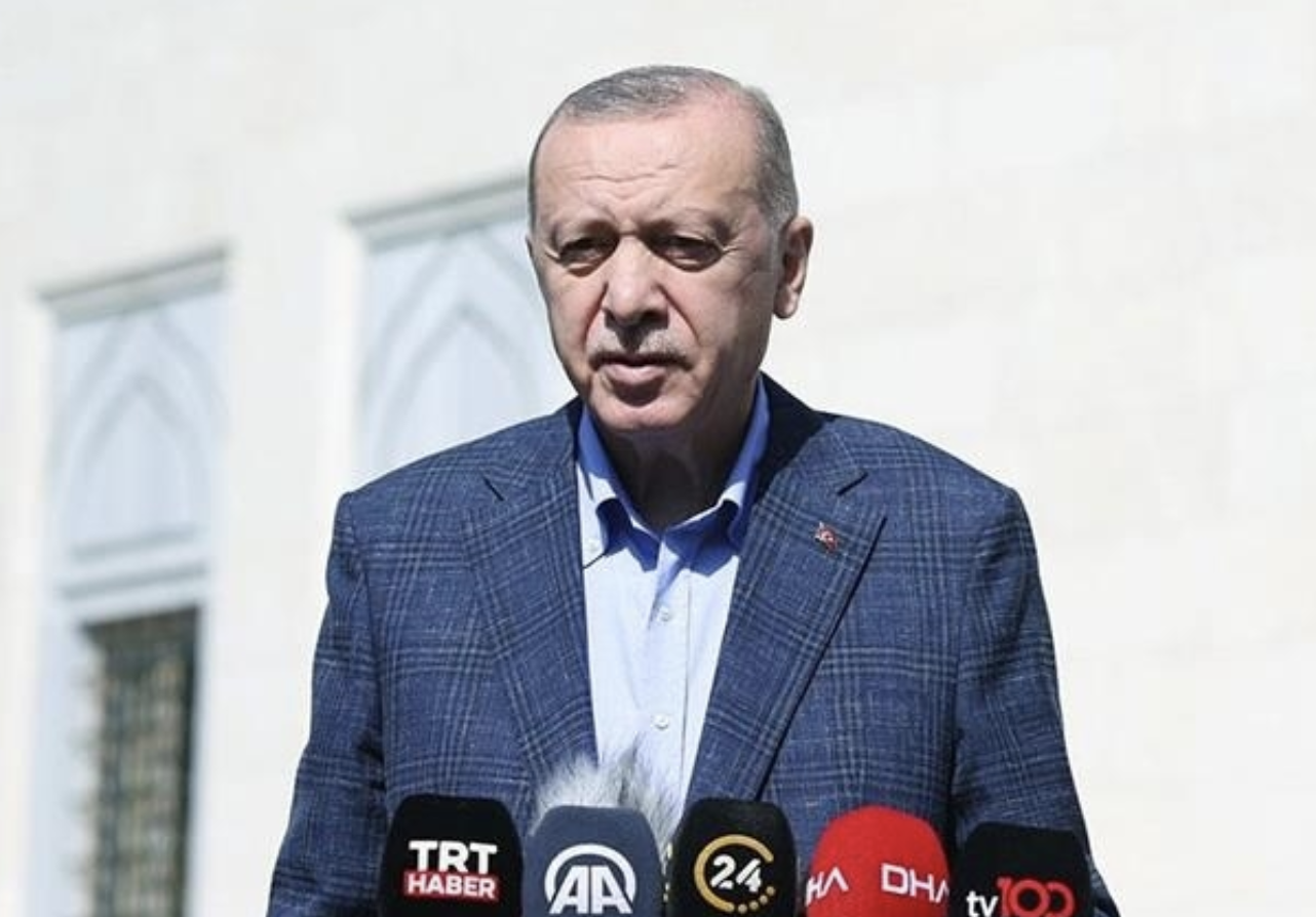 Erdogan: As 2 NATO countries, Turkey, US should be in very different position