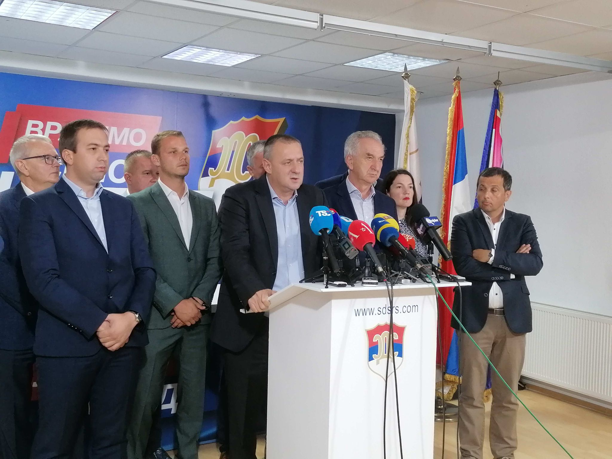 BiH: Opposition parties announce protests in Republika Srpska