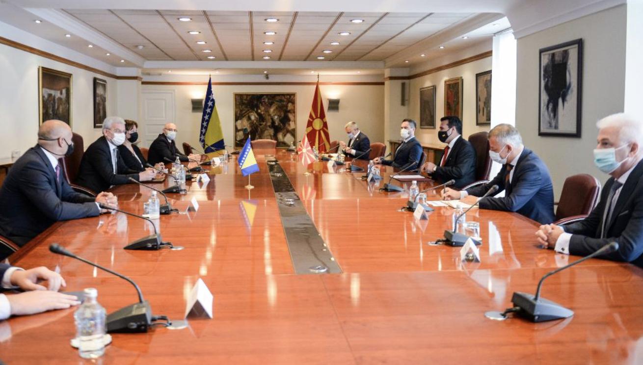 Zaev-Džaferović: North Macedonia and Bosnia-Herzegovina share a common past and commitment to a common future