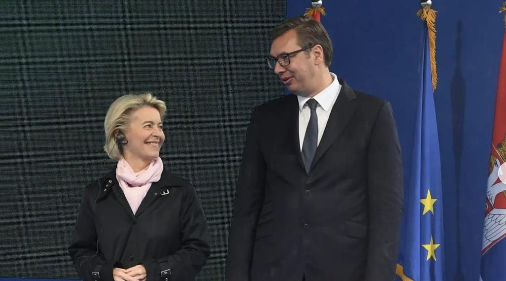 Vučić met with Von der Leyen
