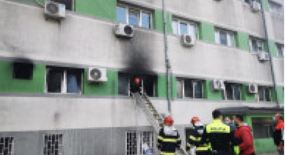 Romania: 9 dead in a fire at Covid hospital in Costanza