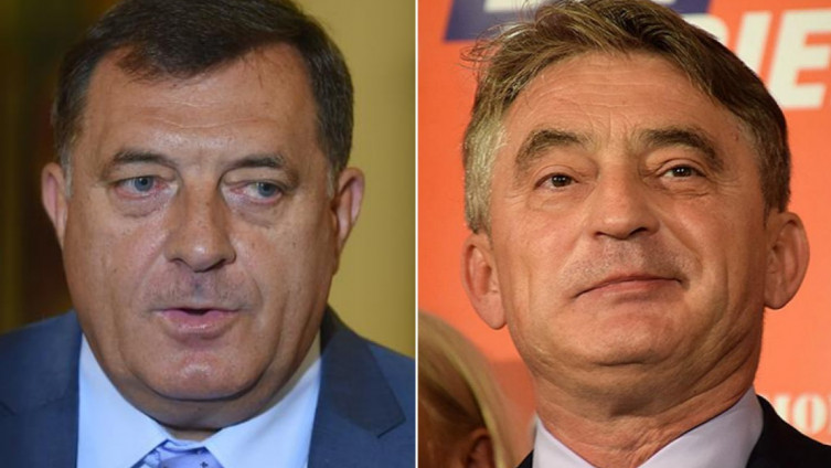 Komšić at the Summit privately, says Dodik