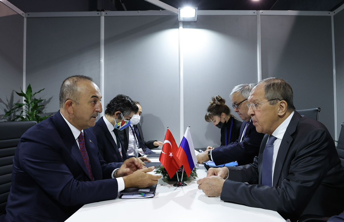 Turkey: Cavusoglu and Lavrov met on the sidelines of the 60th anniversary of the Non-Aligned Movement