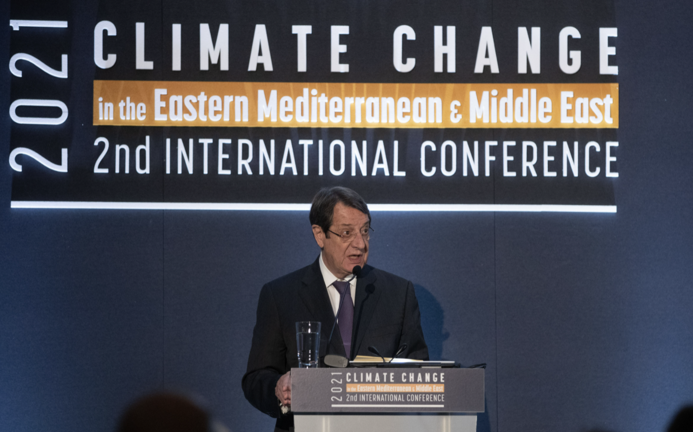 Anastasiades: Cyprus determined to achieve the goals of the Paris Agreement