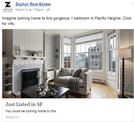 real estate listing facebook